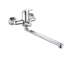 Смеситель для ванны и душа Gross Aqua Elegance с длинным изливом 350 мм