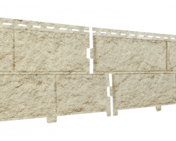 Фасадная панель Стоун Хаус Камень Золотистый
