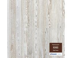 Паркетная доска Tarkett Rumba Дуб Снежный Браш 550048009