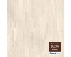 Паркетная доска Tarkett Salsa Art White Pearl Br 55005015