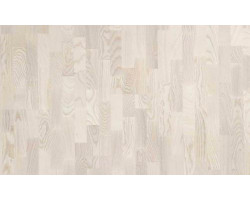 Паркетная доска POLAR WOOD CLASSIC Ясень Living White Matt 3031118164001124