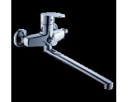 Смеситель для ванны и душа Gross Aqua Nord с длинным изливом 350 мм