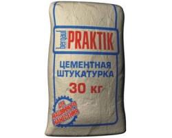 Штукатурка цементная Бергауф Praktik для внутренних работ 30кг