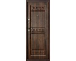Входная металлическая дверь Гарда Спарта Тиковое дерево