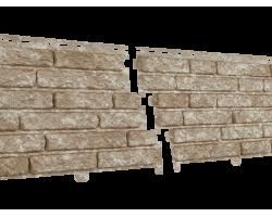Фасадная  панель Стоун Хаус Кварцит Светло-бежевый