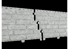 Фасадная  панель Стоун Хаус Кварцит Светло-серый