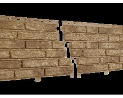 Фасадная  панель Стоун Хаус Кварцит Темно-бежевый